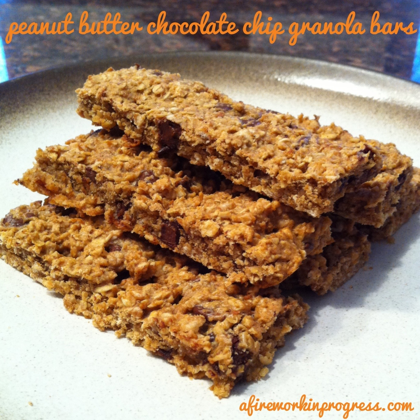 These chewy, wholesome granola bars are great for a snack, dessert, or ...